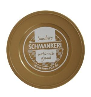 Sandras Dosendeckel 2er-Pack - für 800g.