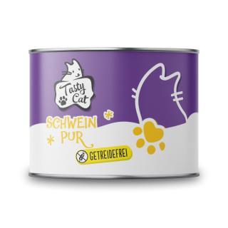 TastyCat Schwein PUR 200g.