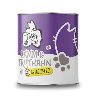TastyCat Lamm & Truthahn 800g.
