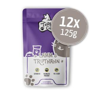 TastyCat Lamm & Truthahn 12 x 125g.